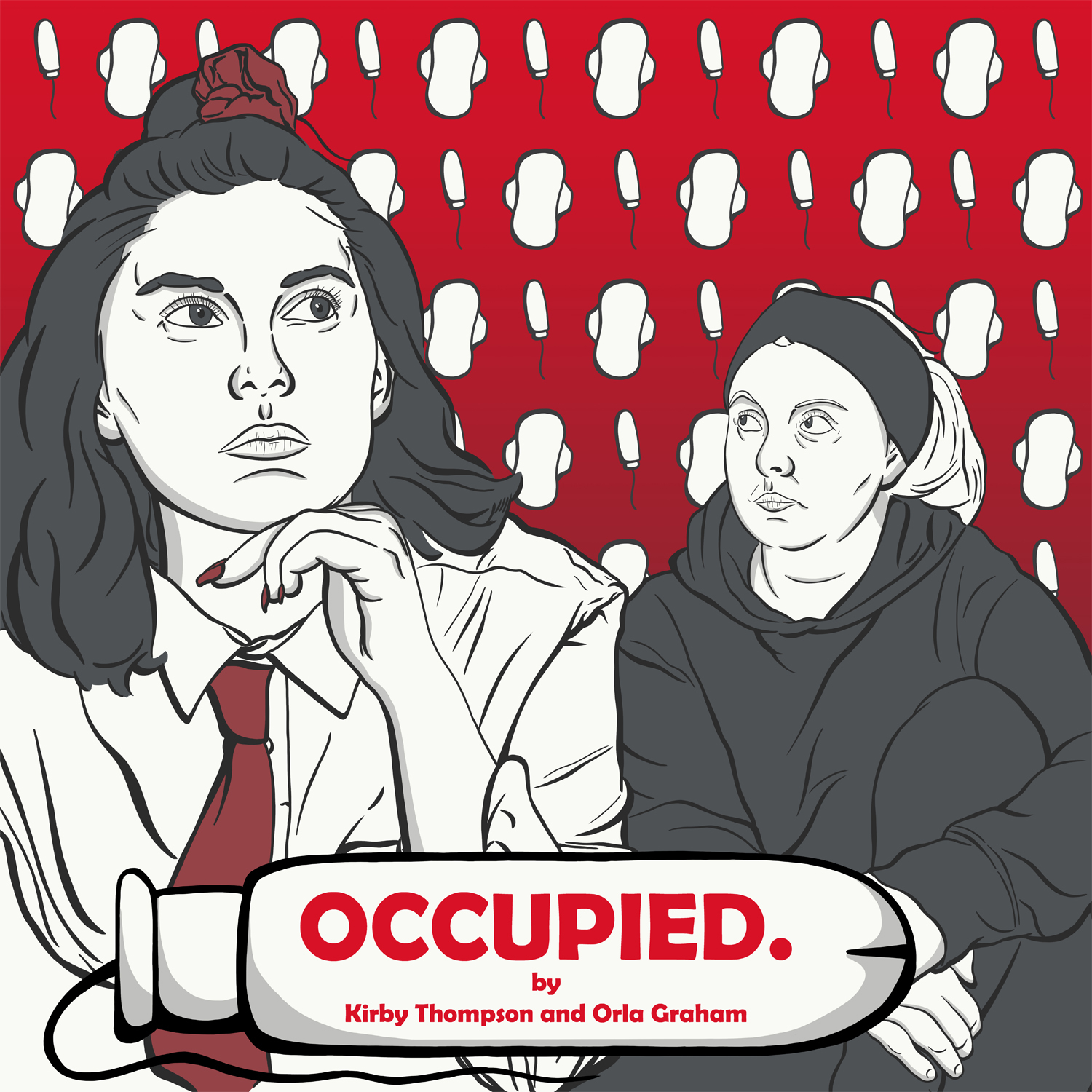 OCCUPIED poster art